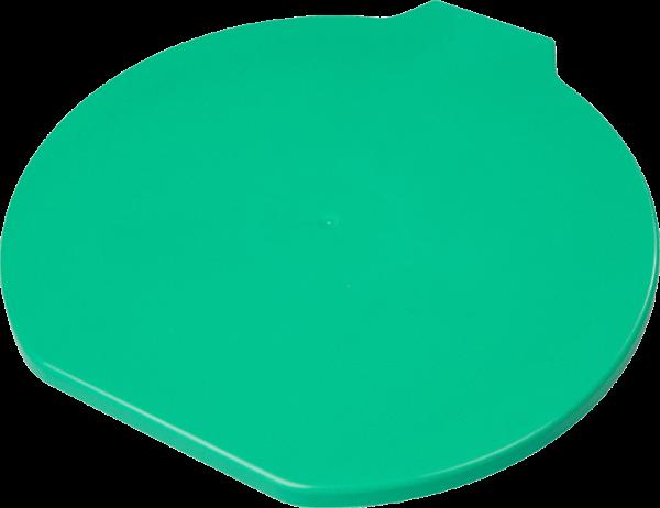 Deksel voor 15 ltr. emmer, ppn/met.detect., groen - HS701115
